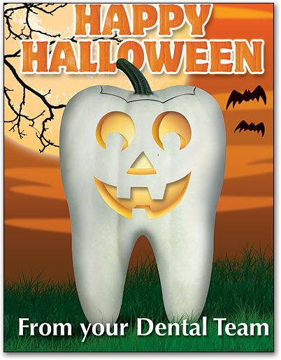 happy halloween friendly dental